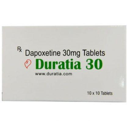 Duratia 30 mg. Generic for Priligy, Westoxetin