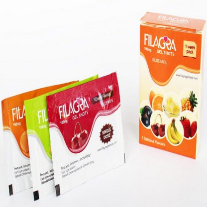 Filagra Oral Jelly 100 mg. Generic for Viagra, Revatio