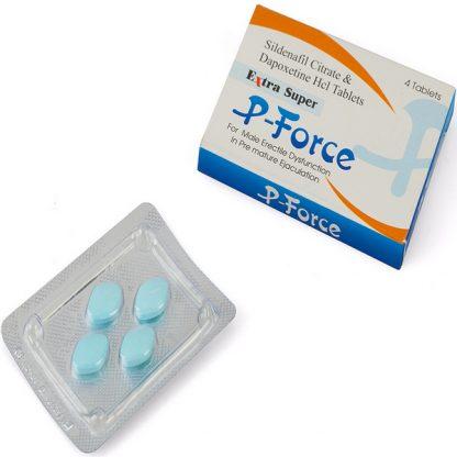 Extra Super P Force. Generic for Priligy, Viagra