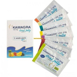 Kamagra Oral Jelly 100mg. Generic for Viagra, Revatio