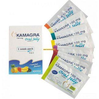 Kamagra Oral Jelly 100mg. Generic for Viagra, Revatio