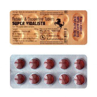 Super Vidalista. Generic for Priligy, Cialis
