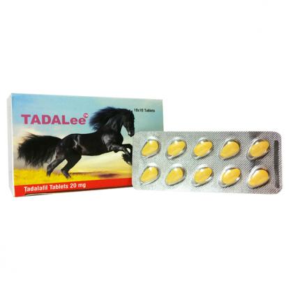 Tadalee 20 mg. Generic for Cialis, Adcirca, Tadacip