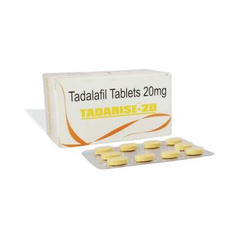 Tadarise 20 mg. Generic for Cialis, Adcirca, Tadacip
