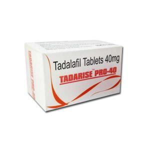 Tadarise Pro 40 mg. Generic for Cialis, Adcirca, Tadacip