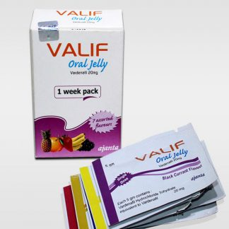 Valif Oral Jelly 20 mg. Generic for Levitra, Staxyn, Vivanza