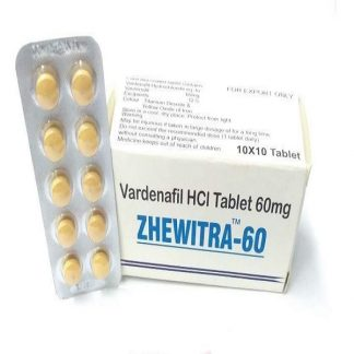 Zhewitra 60 mg. Generic for Levitra, Staxyn, Vivanza